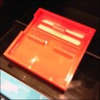 Sephora Bar Mount Sign Frame in Vivid Red