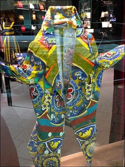 Dolce Gabbana Coat-of-Many-Colors