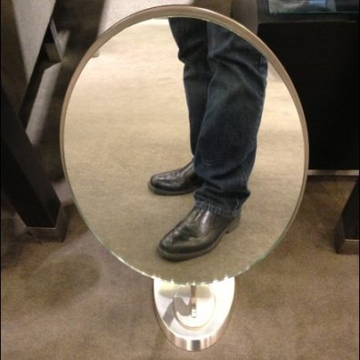 Footwear Floor Mirror Main