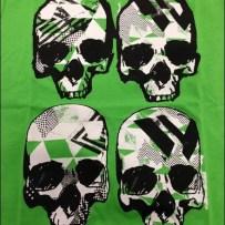 Four Skull T-Shirt Graphic