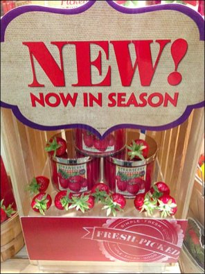 Fresh Picked Strawberry Crate Burlap Main