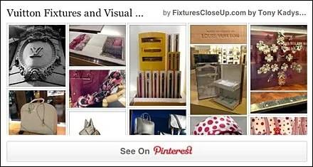 Louis Vuitton Pinterest Board for FixturesCloseUp