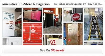 Navigation and Wayfinding Pinterest Board