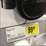 SEcurity Device Obscures Product Apple TV
