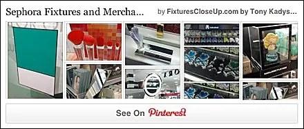 Sephora Fixtures Pininterest Board for Fixtures Close Up