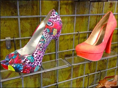 Shoe Ledge for Grid High Heels