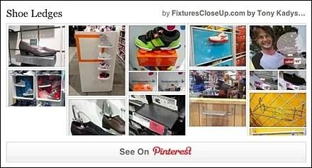 Shoe Ledge Pinterest Board FixturesCloseUp