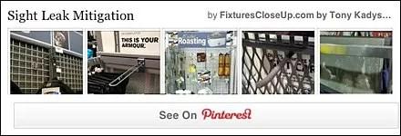 Sight Leak Mitigation Pinterest Board for FixturesCloseUp