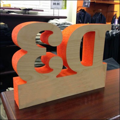 3D D3 Classic Fit Signage Back2
