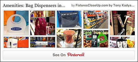 Bag Dispensers Pinterest Board for FixturesCloseUp