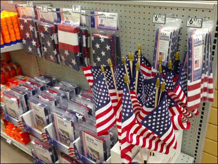 Flag Merchandising for July 4th Main