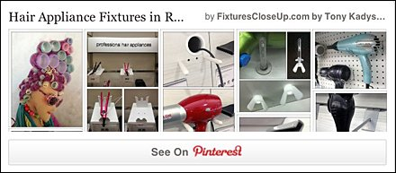 Hair Appliance Fixturing Pinterest Board on Fixtures Close Up