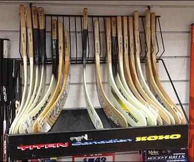 Hockey Blade Slatwall Rack Main