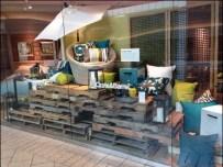 Pallet Merchandising Crate and Barrel 1