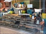 Pallet Merchandising Crate and Barrel 2