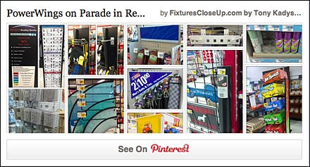 PowerWings in Retail Pinterest Board for FixturesCloseUp
