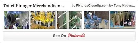 Toilet Plunger Merchandising Fixtures Pinterest Board FixturesCloseUp