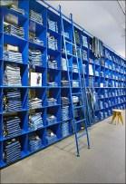 Blue Blue Jean Wall Main