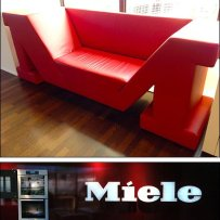 Branded Retail Sitting Area Sofa Aux2