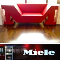 Branded Retail Sitting Area Sofa Main+