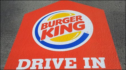 Burger King Drive In Graphic