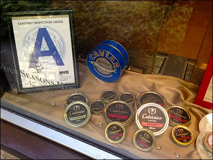 Caviar Upscale Fishmongering Overall