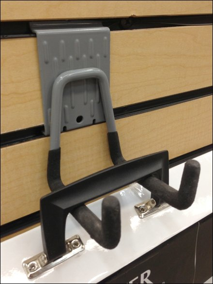 StainMaster Portfolio Double Hook for Slatwall