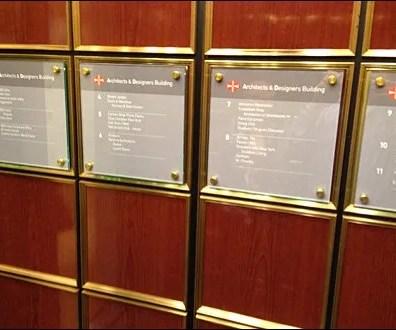 Elevator Wayfaring Sign Holders