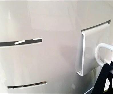 Flatback Grid Hook for Curved Slat Main