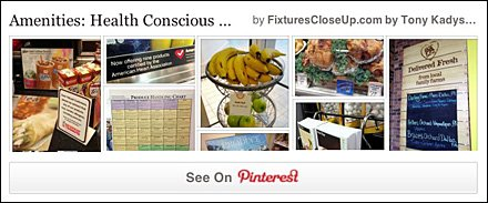 Health Conscious Signage Pinterest Board for FixturesCloseUp