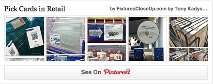 Pick Cards in Retail FixturesCloseUp Pinterest Board