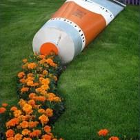 Tube of Flowers