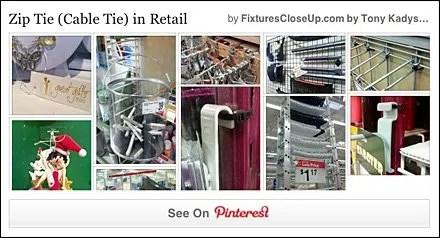 Zip Tie and Cable Tie FixturesCloseUp Pinterest Board