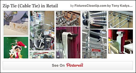 Zip Tie and Cable Tie FixturesCloseUp Pinterest Board