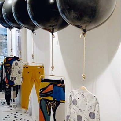 Balloon Based Merchandising Display