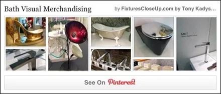 Bath Visual Merchandising FixturesCloseUp Pinterest Board