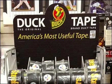 Duck Tape Retail Fixtures and Merchandising - Duck Tape Floor Stand in Sports 1