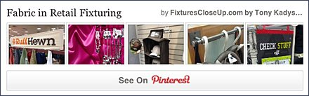 Fabric Retail Fixtures FixturesCloseUp Pinterest Board