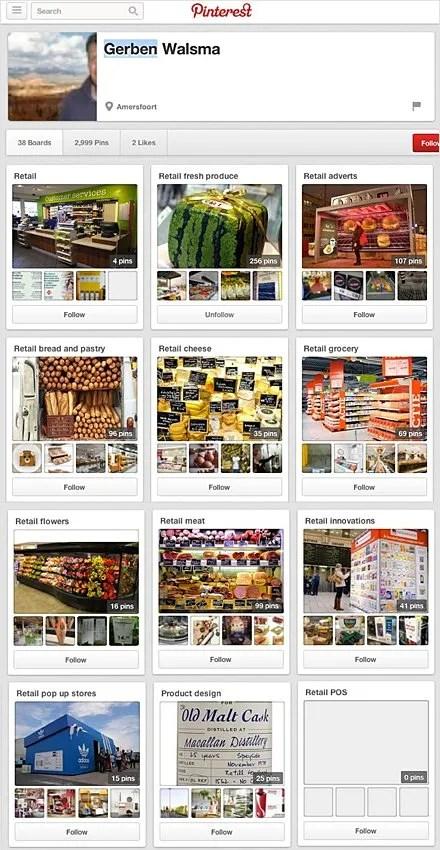 Gerben Walsma Retail Pinterest Boards Main