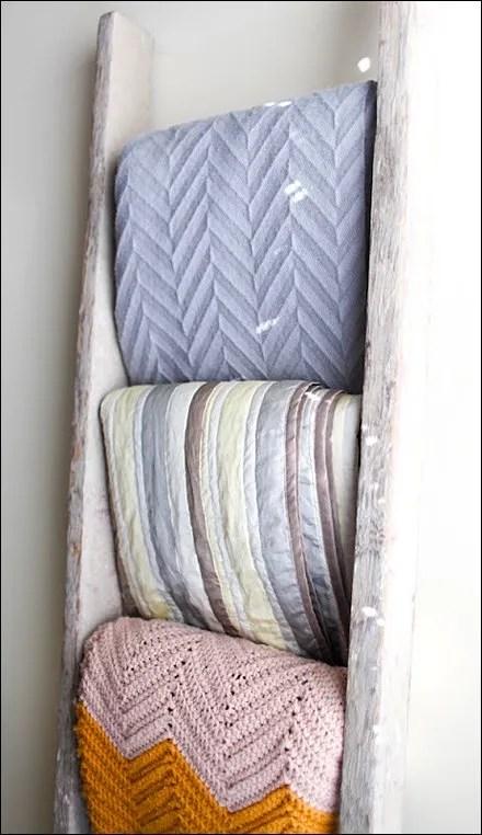 Laddered Blankets Main
