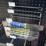 Nested Squares Pegboard Rack 2