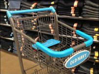 Old Navy Shopping Cart Branding Main