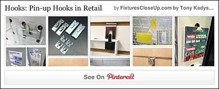 Pin-Up Hooks Pinterest Board on FixturesCloseUp
