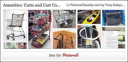 Shopping Cart and Cart Conveniences Pinterest Board