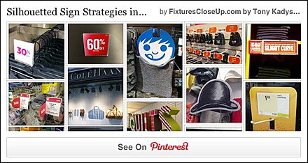 Silhouetted Sign Strategies Pinterest Board on FixturesCloseUp