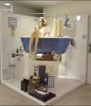 Space Saving Bath Display Aux