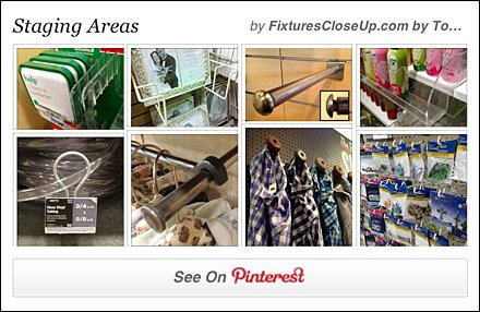 Staging Area FixturesCloseUp Pinterest Board