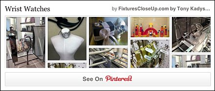 Wrist Watch FixturesCloseUp Pinterest Board
