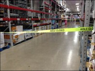 Aisle Closed Overview 1