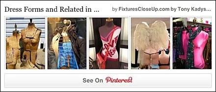 Dress Form FixturesCloseUp Pinterest Boards